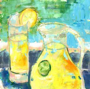 Glass Half Full by Pamela J. Wingard