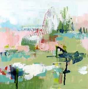 Presence Abstract by Pamela J. Wingard