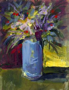 Purple Vase by Pamela J. Wingard
