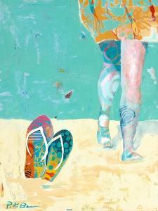 Flip Flops on the Beach by Pamela K. Beer