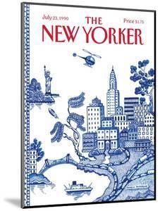 The New Yorker Cover - July 23, 1990 by Pamela Paparone