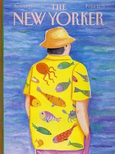 The New Yorker Cover - June 13, 1988 by Pamela Paparone