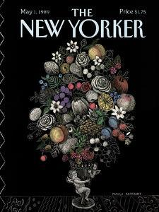 The New Yorker Cover - May 1, 1989 by Pamela Paparone