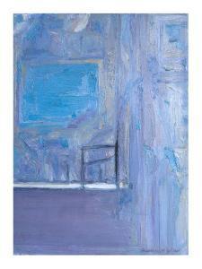 Blue Interior, 1998 by Pamela Scott Wilkie