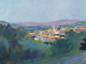 Evening Light in Provence, 1992 by Pamela Scott Wilkie