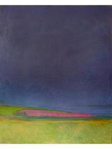 Prescience, Malvern Diptych 1, 1998 by Pamela Scott Wilkie