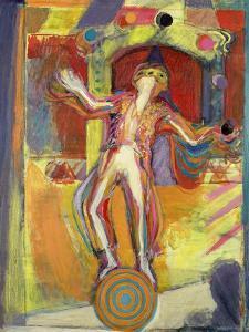 The Juggler, 1992 by Pamela Scott Wilkie