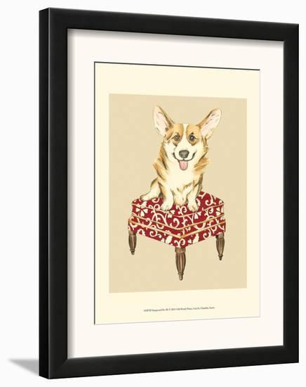 Pampered Pet III-Chariklia Zarris-Framed Art Print