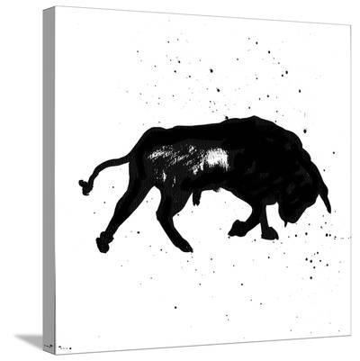 Pamplona Bull III-Rosa Mesa-Stretched Canvas Print