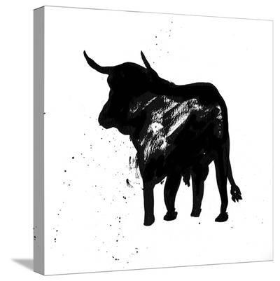 Pamplona Bull IV-Rosa Mesa-Stretched Canvas Print