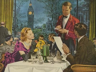 Pan Am, Magazine Advertisement , Pan American, USA, 1950