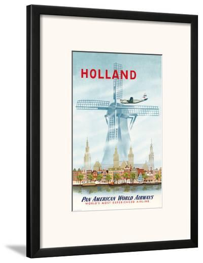 Pan American: Holland, c.1951--Framed Art Print