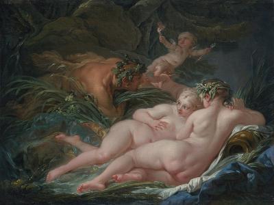 Pan and Syrinx, 1759-Fran?ois Boucher-Giclee Print
