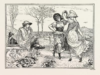 Pan Pipes-Walter Crane-Giclee Print