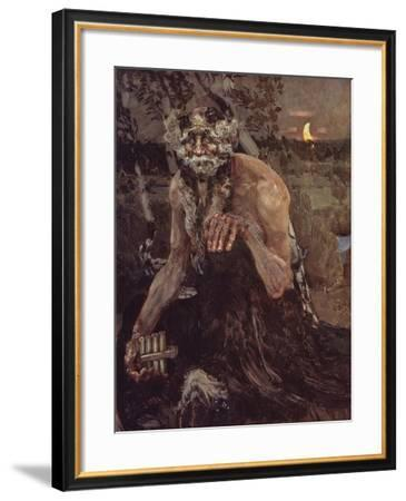 Pan-Mikhail Alexandrovich Vrubel-Framed Giclee Print