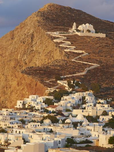 Panagia Kimissis Monastery, Kastro, the Chora Village, Folegandros, Cyclades Islands, Greek Islands-Tuul-Photographic Print