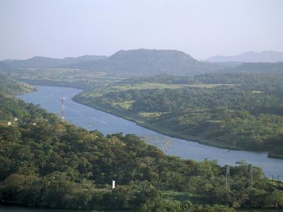 Panama Canal, Panama, Central America-Sergio Pitamitz-Photographic Print