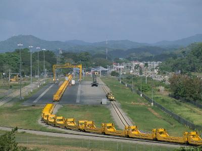 Panama Canal Railway, Balboa, Panama, Central America-Sergio Pitamitz-Photographic Print