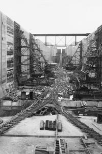 Panama Canal under Construction