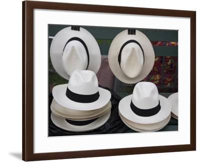 Panama Hats, Panama City, Panama, Central America-Wendy Connett-Framed Photographic Print