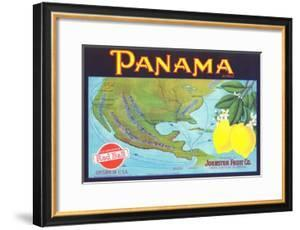 Panama Lemon Label