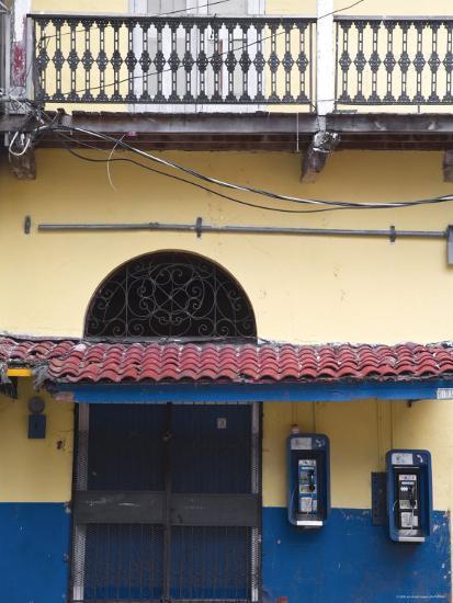 Panama, Panama City, House in Casco Viejo-Jane Sweeney-Photographic Print