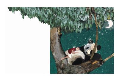 Panda And Child-Nancy Tillman-Art Print