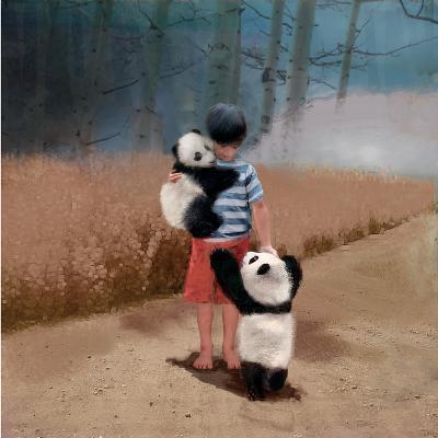 Panda Friends-Nancy Tillman-Art Print