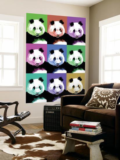 Panda Pop Art - Visit the Zoo-Lantern Press-Wall Mural