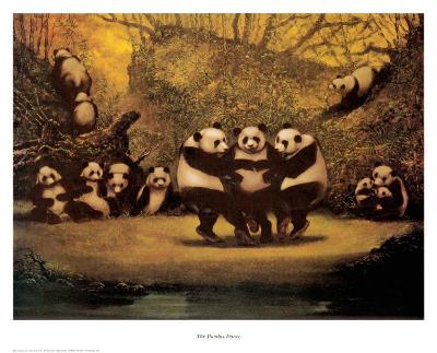 Panda's Dance- Schwedler-Art Print