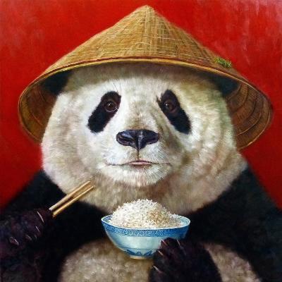 Panda-Lucia Heffernan-Art Print