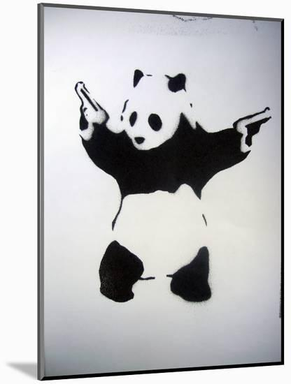 Pandamonium-null-Mounted Art Print