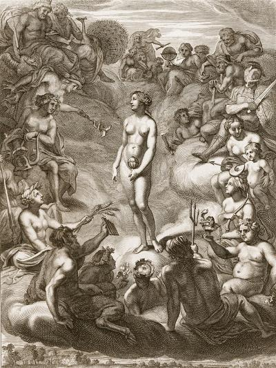 Pandora's Box, 1730-Bernard Picart-Giclee Print