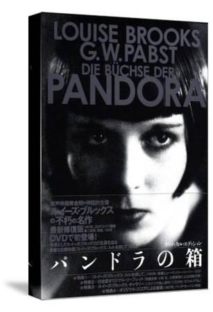 Pandora's Box, Japanese Movie Poster, 1928