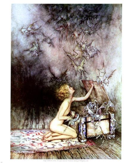Image result for images for pandora's box