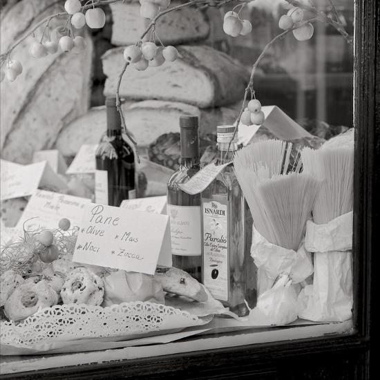 Pane e Vino I-Alan Blaustein-Photographic Print