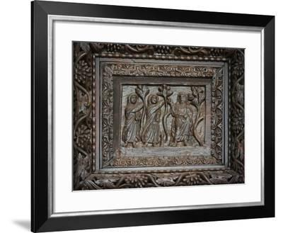 Panel from 5C Door: Christ Appears to the Holy Women at the Tomb--Framed Giclee Print