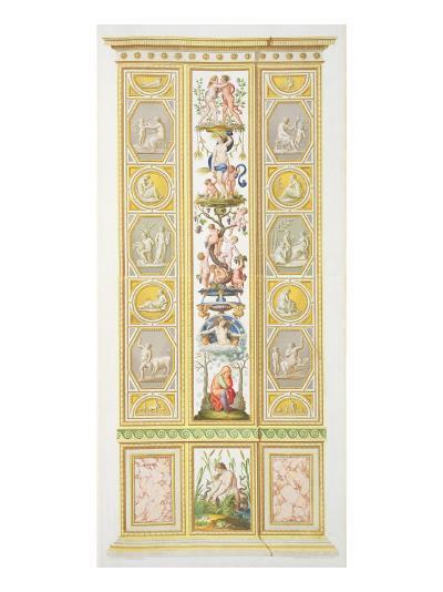 Panel from the Raphael Loggia at Vatican, from 'Delle Loggie di Rafaele nel Vaticano'-Ludovicus Tesio Taurinensis-Giclee Print
