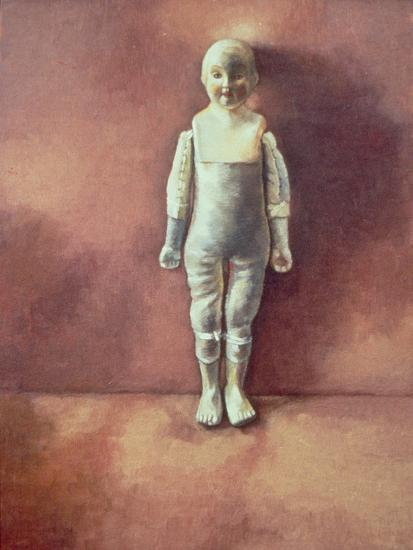Panel from the Triptych 'Doll Study', 2000-Victoria Russell-Giclee Print