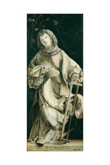 Panel of the Heller Altar Depicting St. Laurence-Matthias Gr?newald-Giclee Print
