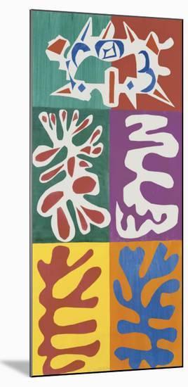 Panel with Mask, c.1947-Henri Matisse-Mounted Art Print