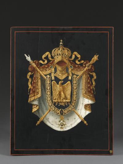 Panneau d'Armoiries aux armes de Napoléon III--Giclee Print