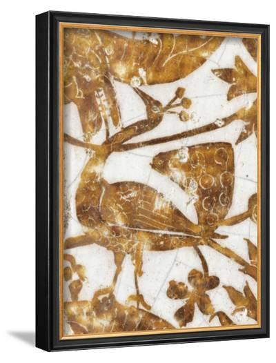 Panneau de rev?tement mural fragmentaire--Framed Giclee Print