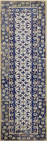 Panneau de revêtement à décor d'arabesques--Giclee Print