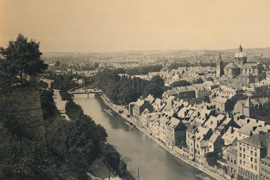 'Panorama de la Sambre', c1900-Unknown-Photographic Print