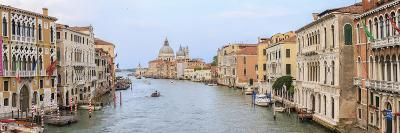 Panorama. Grand Canal. Basilica Di Santa Maria Della Salute in Background. Venice. Italy-Tom Norring-Photographic Print