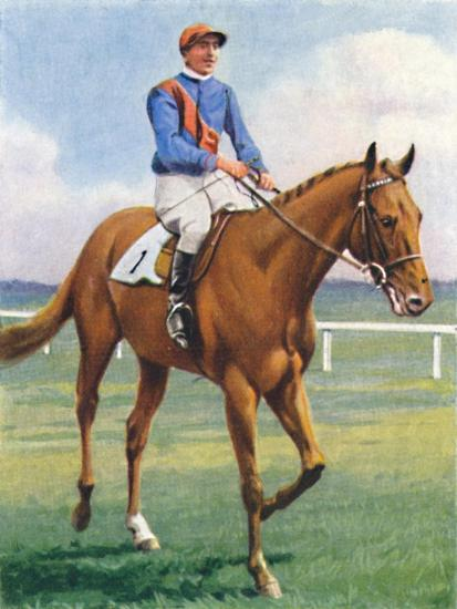 Panorama, Jockey: P. Beasley', 1939-Unknown-Giclee Print
