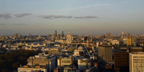 Panorama Looking East from Victoria, London-Richard Bryant-Photographic Print