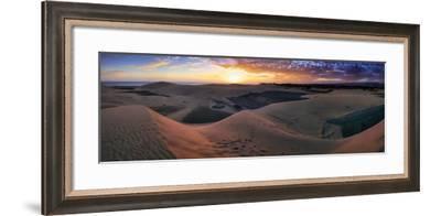 Panorama Maspalomas Dunes-István Nagy-Framed Photographic Print