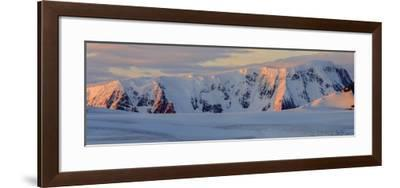 Panorama. Mountain Range. Antarctica.-Tom Norring-Framed Photographic Print